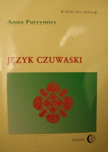Cover of Anna Parzymies' Polish-language introduction to Chuvash